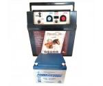 Electrificateur 9 et 12 Volts avec batterie